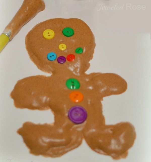 Once the puffy gingerbread men are dry they are so fun to touch! This ...