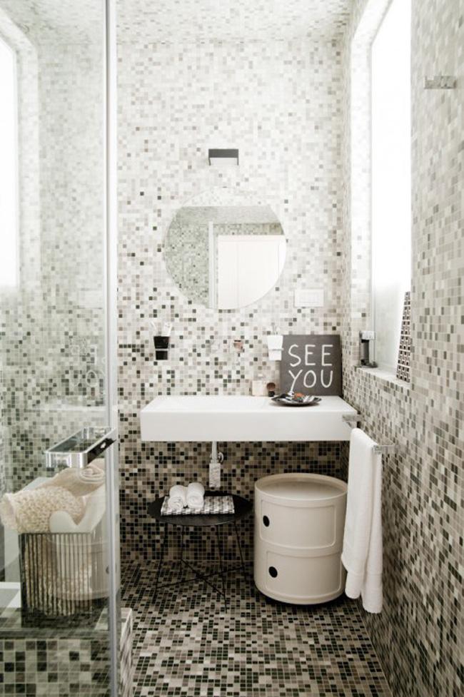 baño espacio pequeño loft 30m2