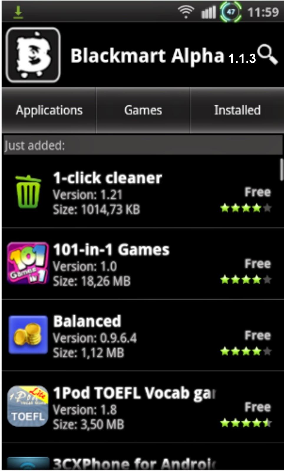Blackmart Apk (7.1 MB)
