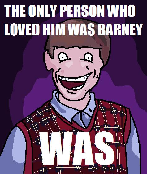 Bad Luck Brian Meme cartoon