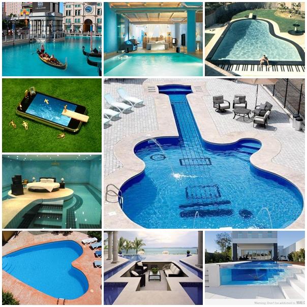 Tudo para mulheres diferentes piscinas for Modelos de reposeras para piscinas
