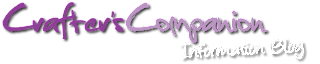 Crafter's Companion USA Information Blog