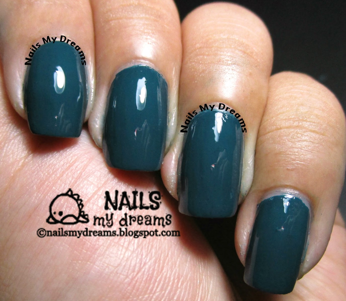 dazzle dry mythic teal swatch 2