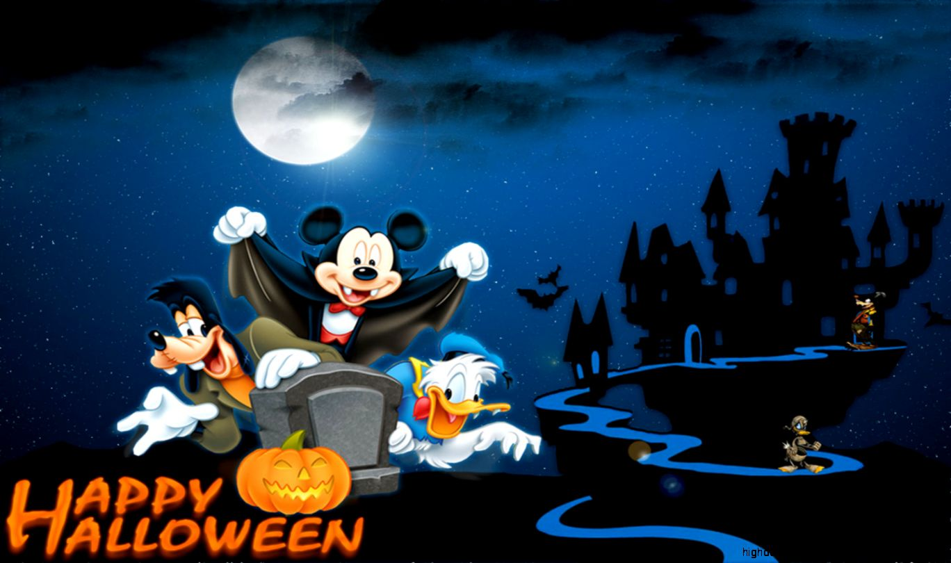 Mickey Mouse Wallpapers Hd Halloween