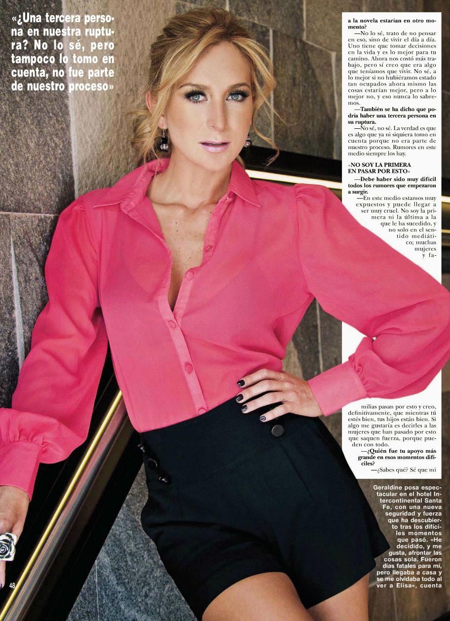 geraldine bazan hola magazine juni 2012