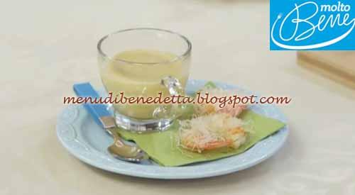 Cappuccino di mare ricetta Parodi per Molto Bene su Real Time