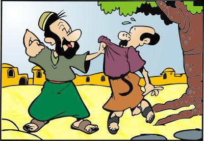 O servo ingrato - História bíblica