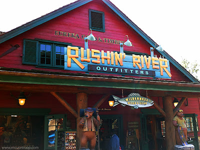 Rushin River Outfitters DCA Disney California Adventure shop
