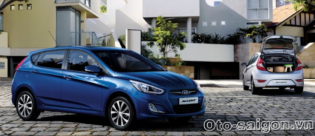 Xe Hyundai Accent Hatchback 5 cua 2014 Xe Hyundai Accent Hatchback 5 cửa 2014
