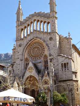 Beautiful architecture in Soller