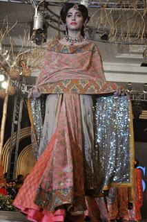 HSY, PFDC, L'Oreal, Paris Bridal Week,bridal wear