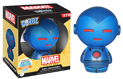 "New York Comic Con 2015 Exclusive Marvel ""Stealth Armor"" Iron Man Dorbz Vinyl Figure by Funko"