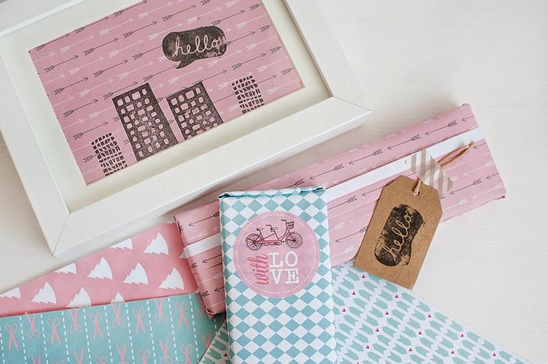 ideas para envolver regalos Navidad papeles estampados scrapbooking hermanas bolena Diyshow Hp