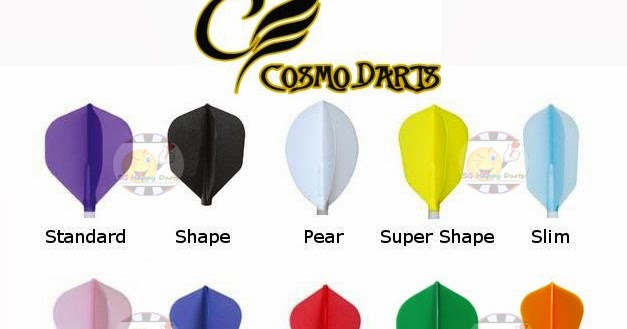 Super Shape White Cosmo Fit Flights 6pk