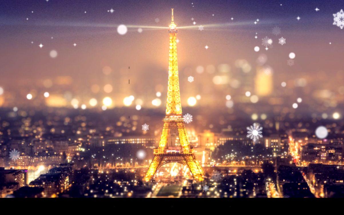 Eiffel Tower Night Lights Wallpaper All Hd Wallpapers Gallerry