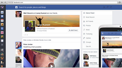 Cara Dapatkan Tampilan Baru Facebook Newsfeed
