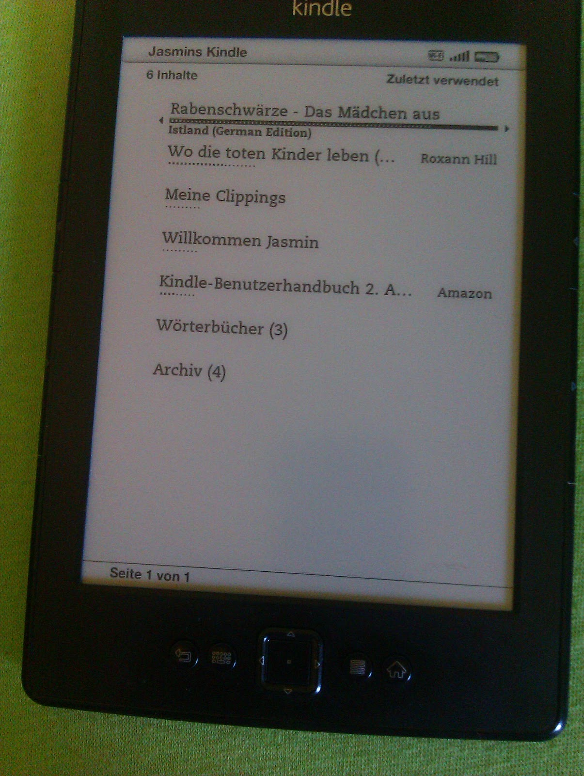 amazon mein kindle bibliothek