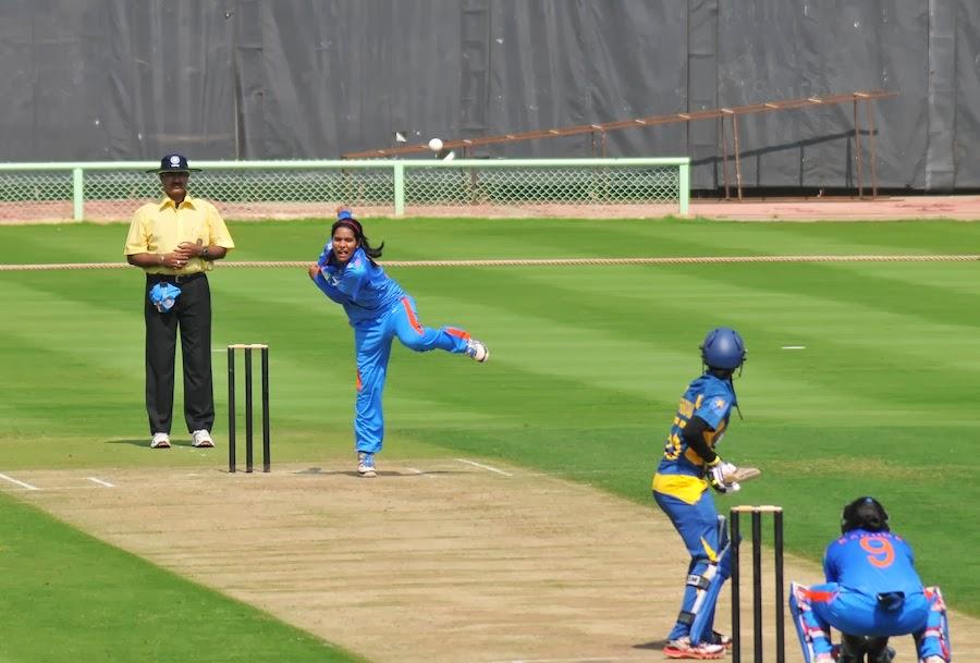 Gouher-Sultana-India-vs-Sri Lanka-1st ODI-2014