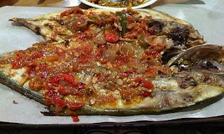 Ikan Bakar Rica Khas Sulawesi Utara