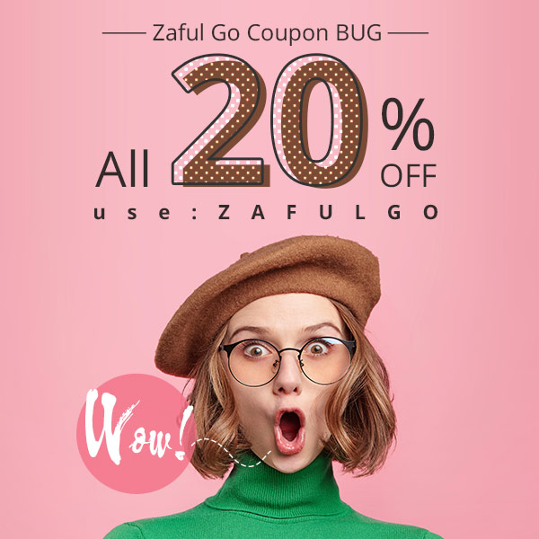 Wow! Zaful Coupon Bug !!! All 20% OFF