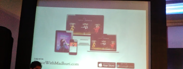 Dance with Madhuri App for Android and iOS