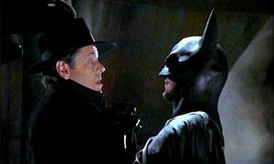 Jack Nicholson y Michael Keaton en Batman