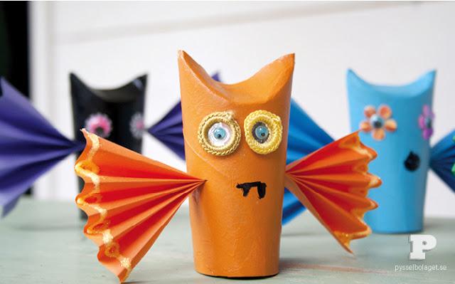 Rotoli Di Carta Colorata : Costruire maracas per bambini riciclando i rotoli di carta