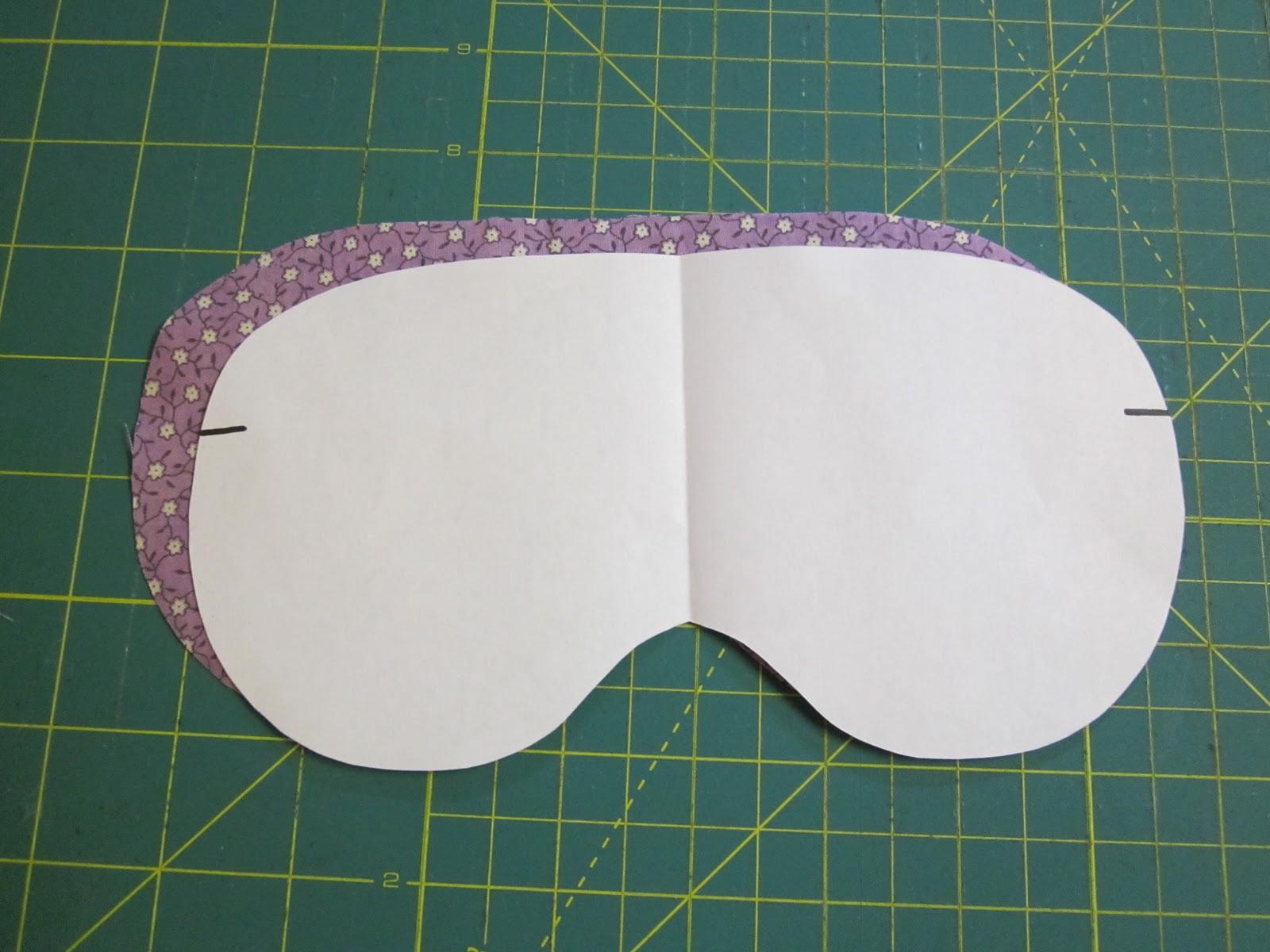 The red kitchen eye mask free pattern tutorial maxwellsz