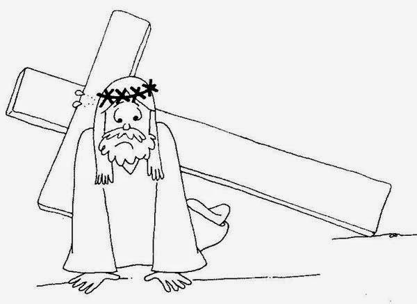 Gifs y Fondos Paz enla Tormenta ®: LAS TRES CAÍDAS DE JESÚS PARA ...
