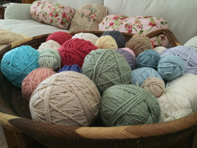 Cotton Knitting Yarn Australia : How to store wool and cotton for knitting down earth