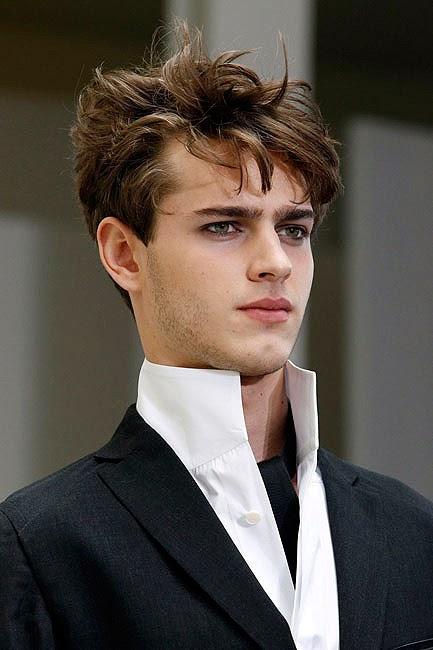 Modela tu cabello peinados para hombres con pelo lacio - Peinados de hombres ...