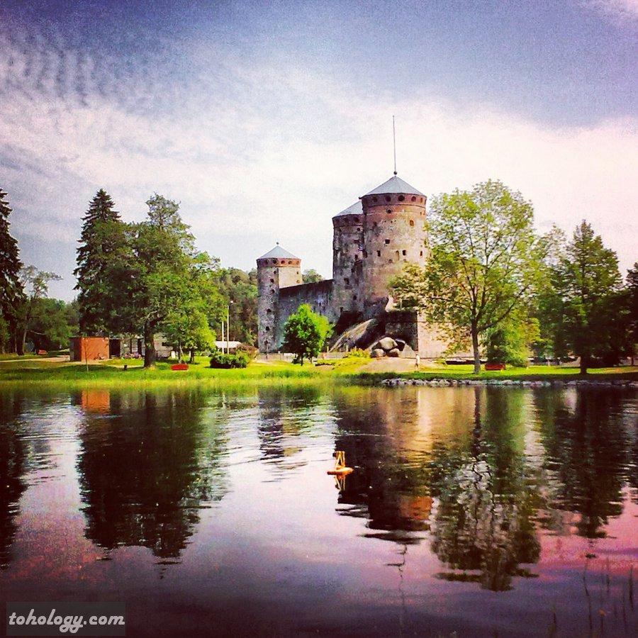 Olavinlinna Castle in Savonlinna