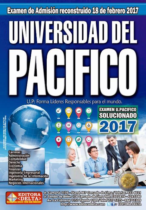 Examen U. Pacifico 2017