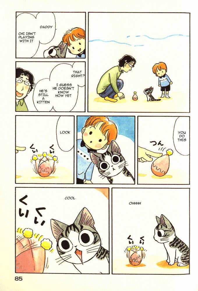 Chii S Sweet Home Anime Dan Manga Kucing Paling Lucu Di