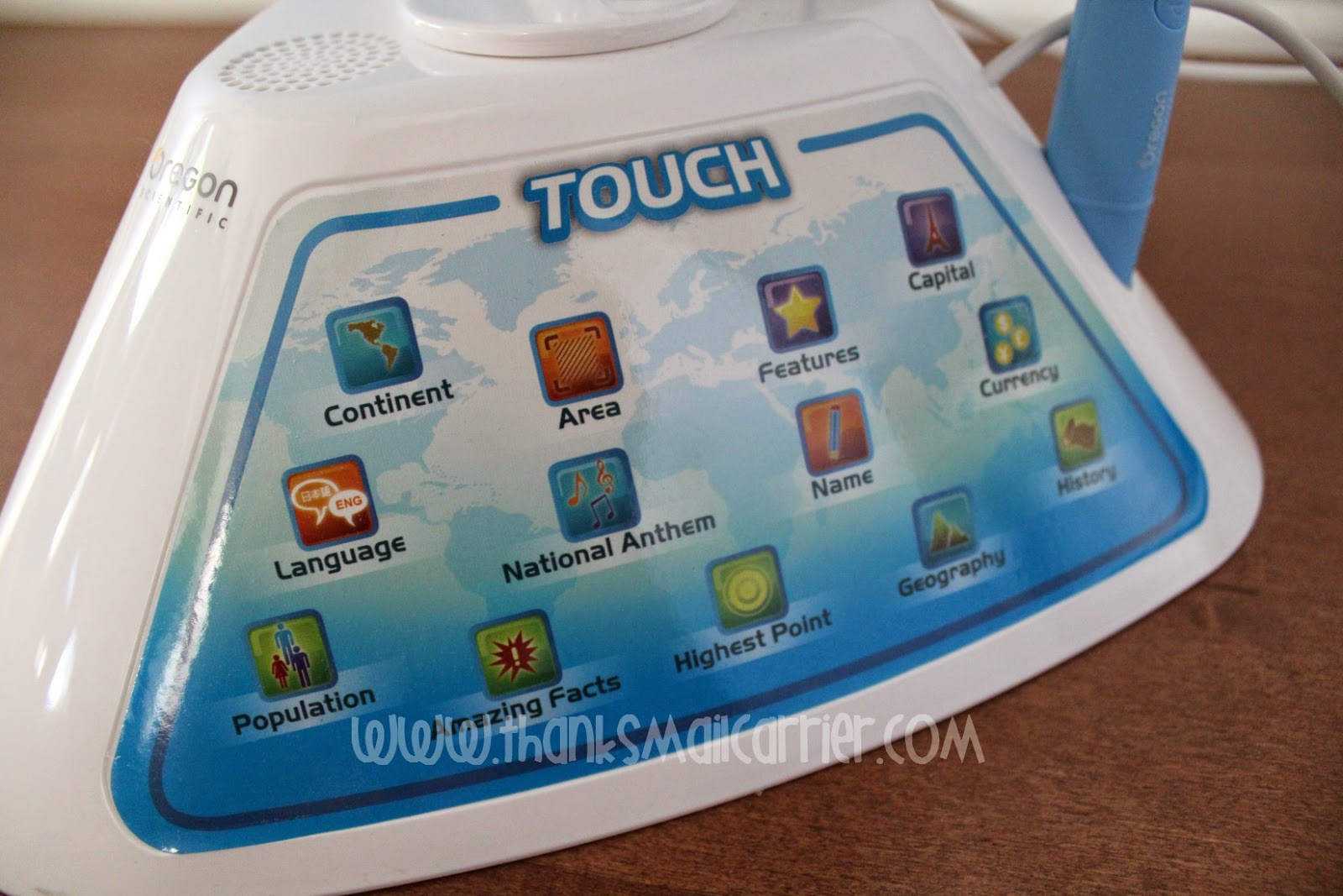 SmartGlobe Discovery touch panel