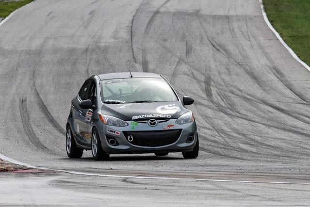Derrick Ambrose's Mazda2 B-Spec racer