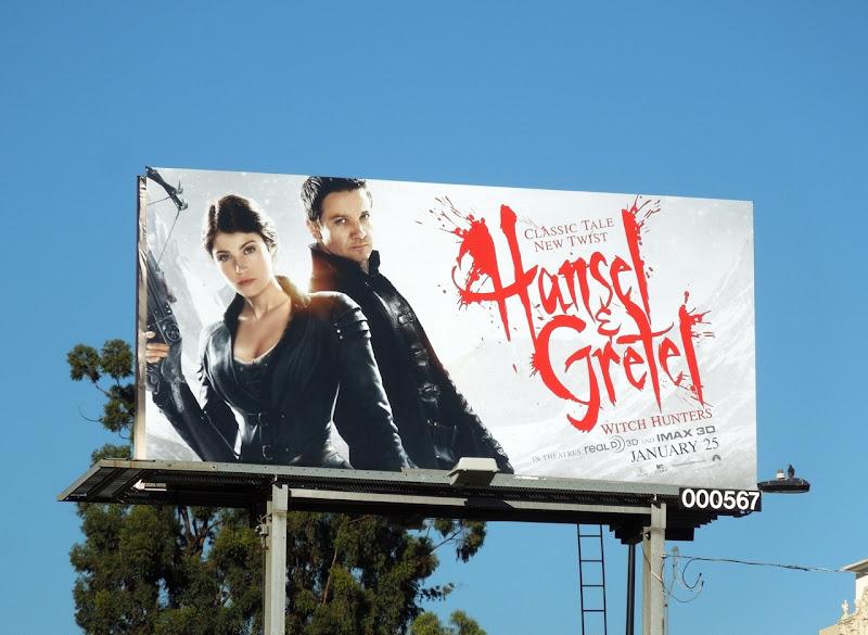 Hansel Gretel Witch Hunters billboard