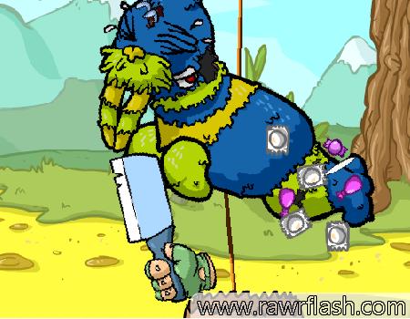 Jogos de ação: espanque a pinhata, Piñata Hunter 3