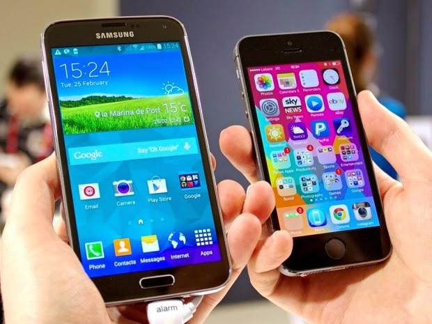 Galaxy S6 و آيفون 6 يتنافسان في تجربة جديدة (فيديو)