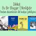 Dikkat: Bu Bir Blogger Etkinliğidir! (sonuçlandı)