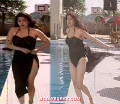 Juhi Chawla in bikini - (4) - Famous Bollywood Actresses in Bikini
