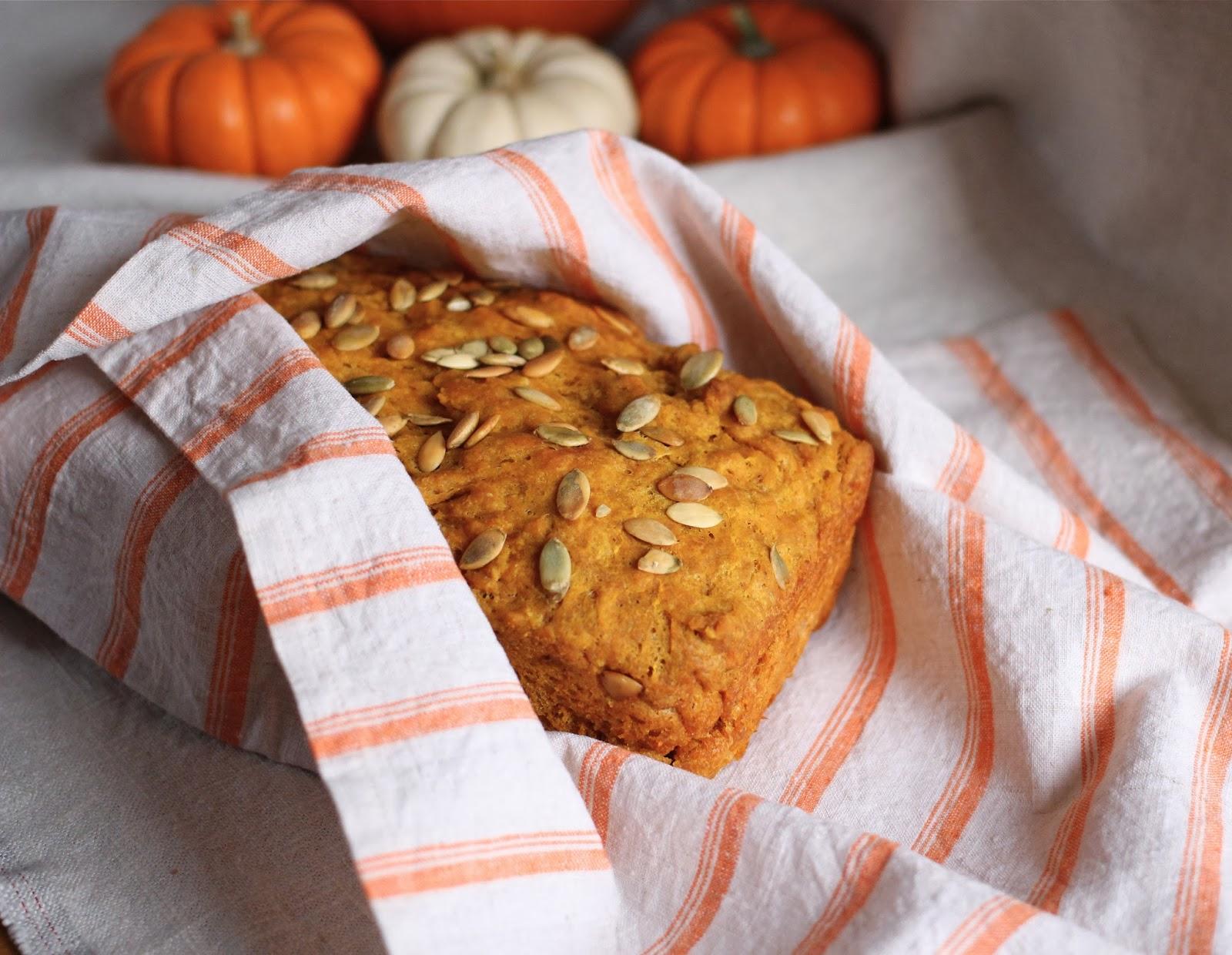 Arctic Garden Studio Whole Wheat Bread With Pumpkin