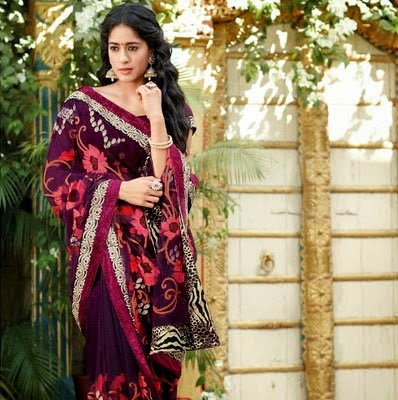 Laxmipati Indian Embroidered Saree Collection 2015