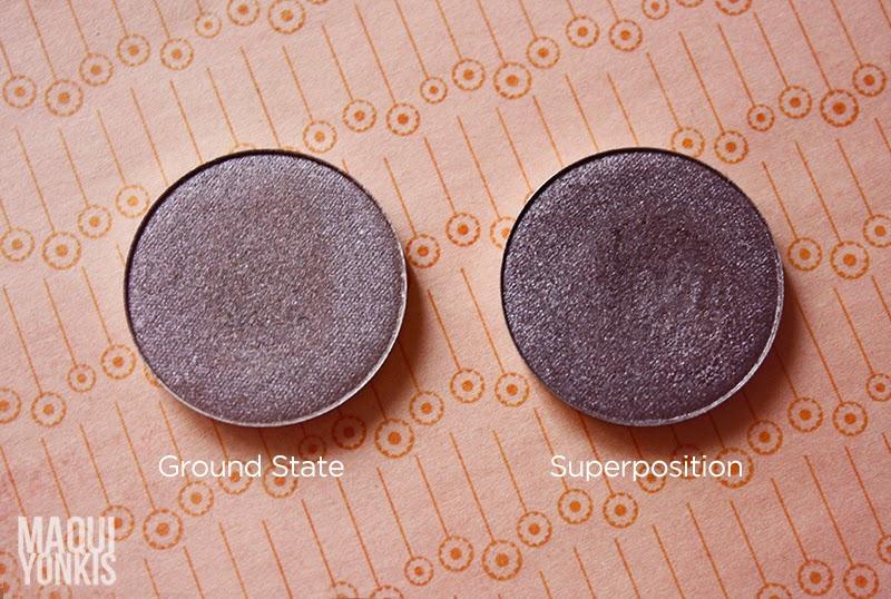 Ground State vs Superposition Nabla