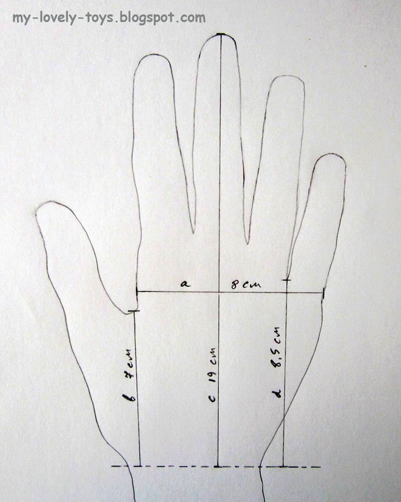 Вязанием перчаток крючком