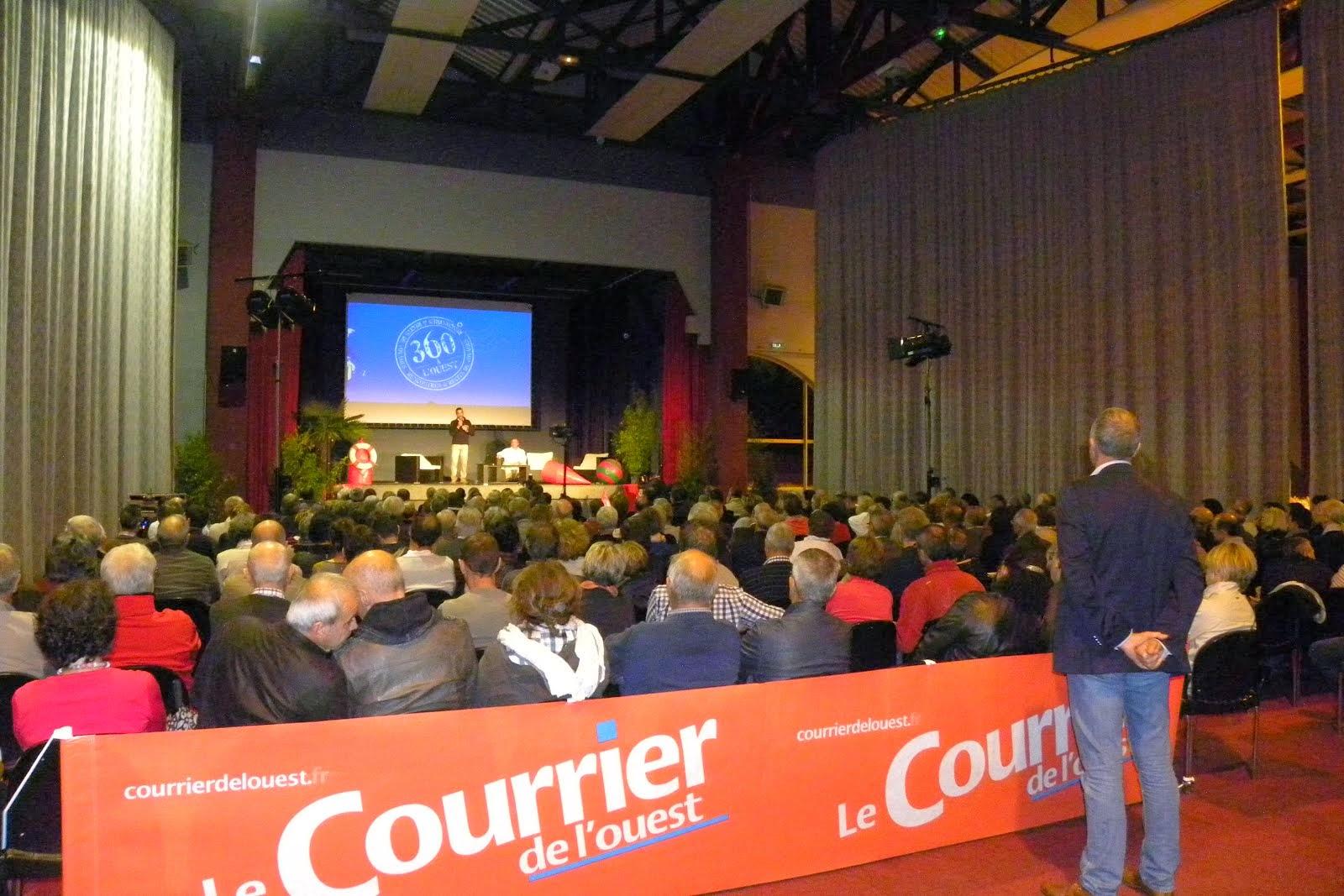 Soirée de lancement  à la Pommeraye