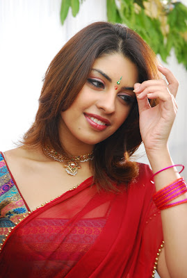 Richa gangopadhyay in red