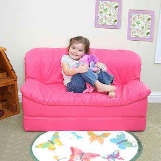 This Fantastic Kids Flip U201cOpenu201d Sofa Works Great As Your Children Sofa Bed,  Kids Sofa, And Of Course Their Favorite Everyday Seat To Drag Around With  Them ...