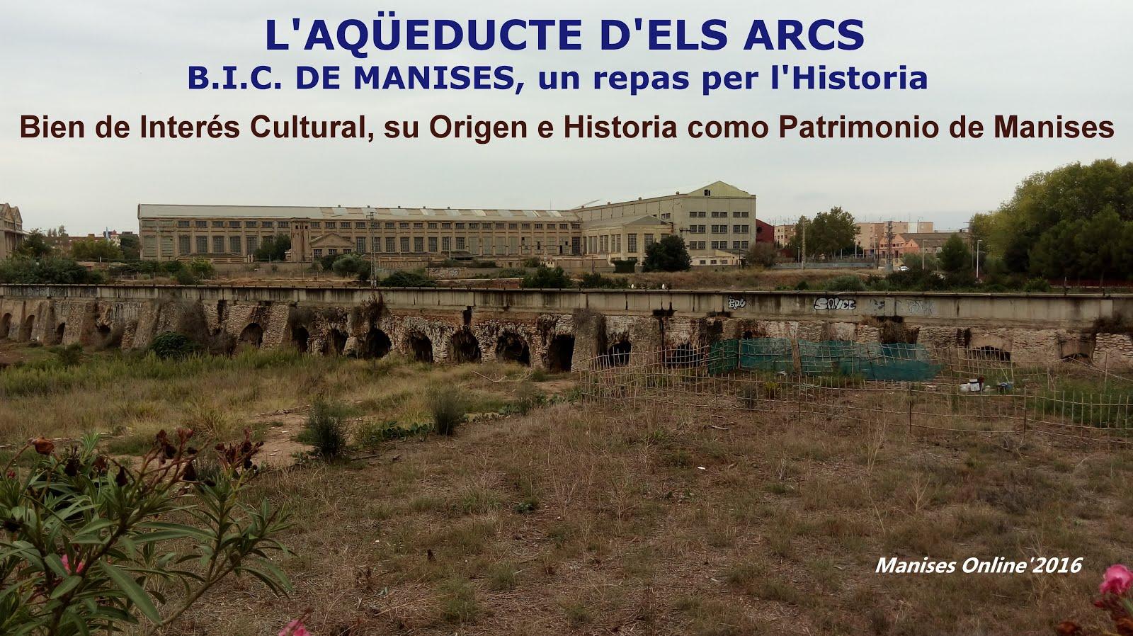 03.11.16 B.I.C. DE MANISES: AQÜEDUCTE ELS ARCS