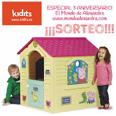 SORTEO ESPECIAL ANIVERSARIO CON KIDITS (Sorteo Internacional)